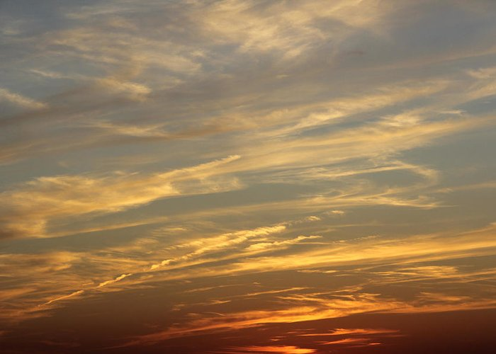 Colorful Clouds Greeting Card featuring the photograph Reach For The Sky 7 by Mike McGlothlen