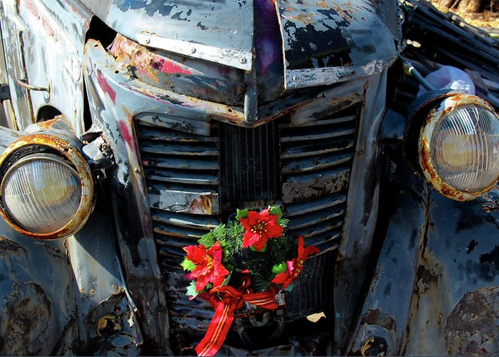 Photo For Sale Greeting Card featuring the photograph Ready For Christmas by Robert Wilder Jr