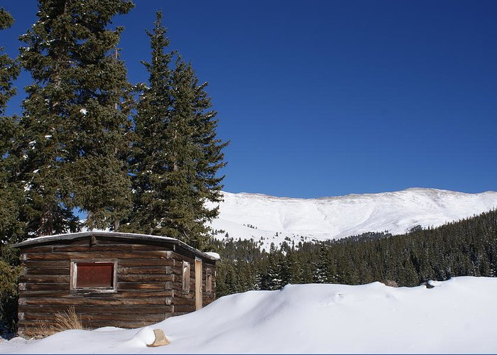 Snow Greeting Card featuring the photograph Real Colorado by Brian Anderson