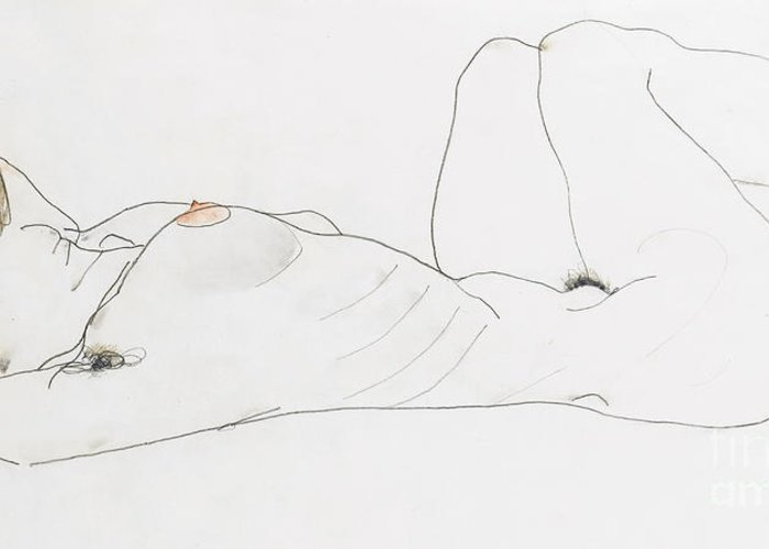 Egon Schiele Greeting Cards