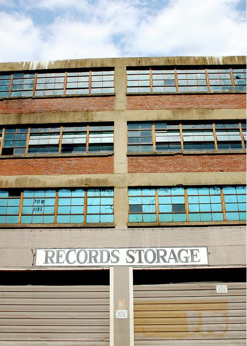 Storage Building Greeting Cards