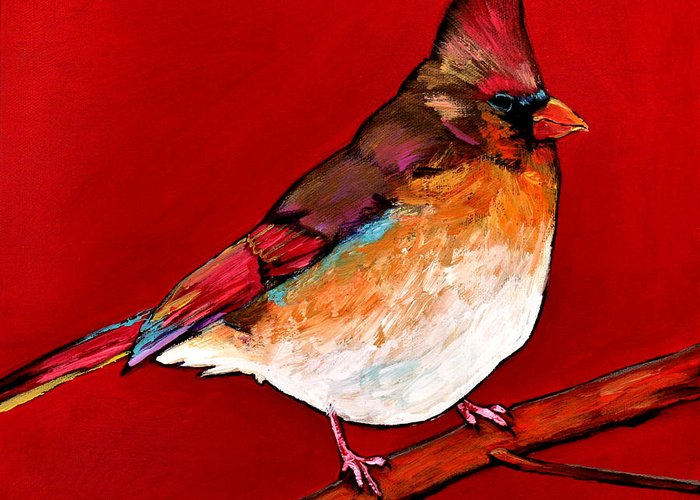 Red Tail Greeting Cards