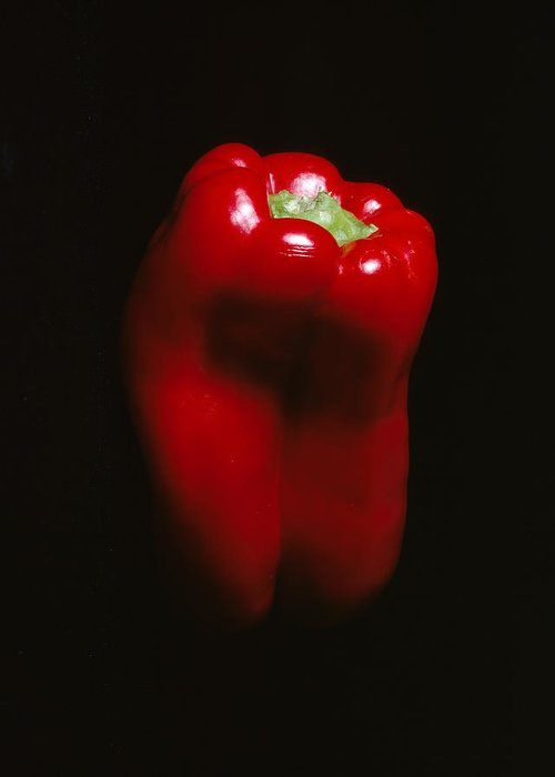 Pepper Greeting Card featuring the photograph Red Pepper by Jessica Wakefield