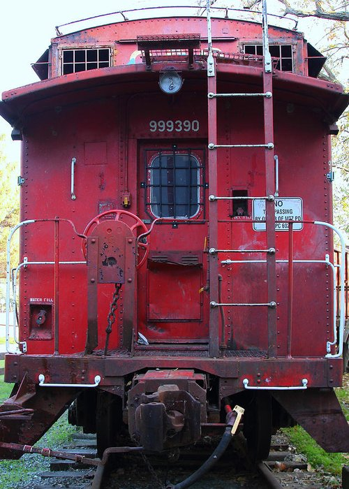 Old Caboose Greeting Cards