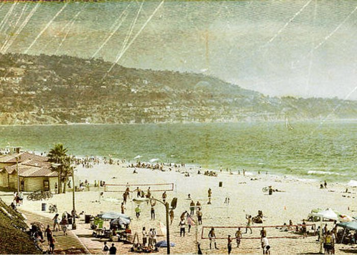 Redondo Beach Greeting Card featuring the photograph Redondo Beach La by Kevin Bergen