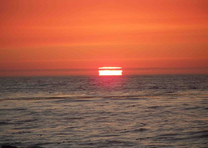 Sunset Greeting Card featuring the photograph Rescue Me by Maggie Cruser