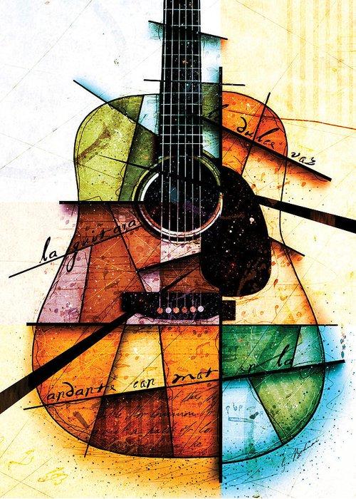 acoustic guitar art fine art america. Black Bedroom Furniture Sets. Home Design Ideas