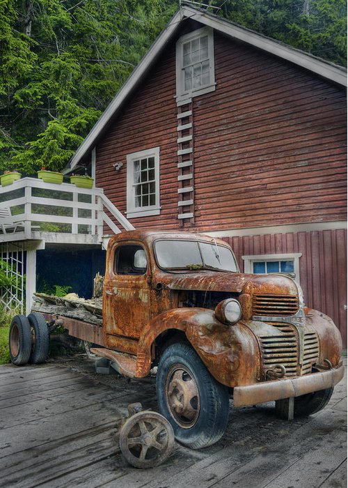 Hdr Greeting Card featuring the photograph Retired by Doug Matthews