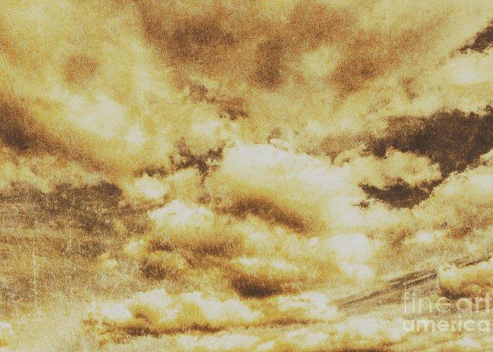 Turbulent Skies Greeting Cards