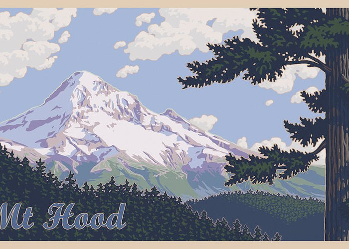 Mount Hood Photographs Greeting Cards
