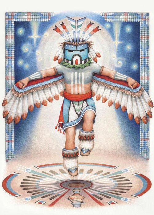 Hopi Drawings Greeting Cards
