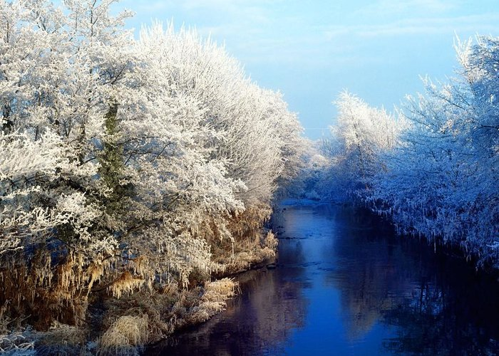 Beauty In Nature Greeting Card featuring the photograph River Bann, Co Armagh, Ireland by The Irish Image Collection
