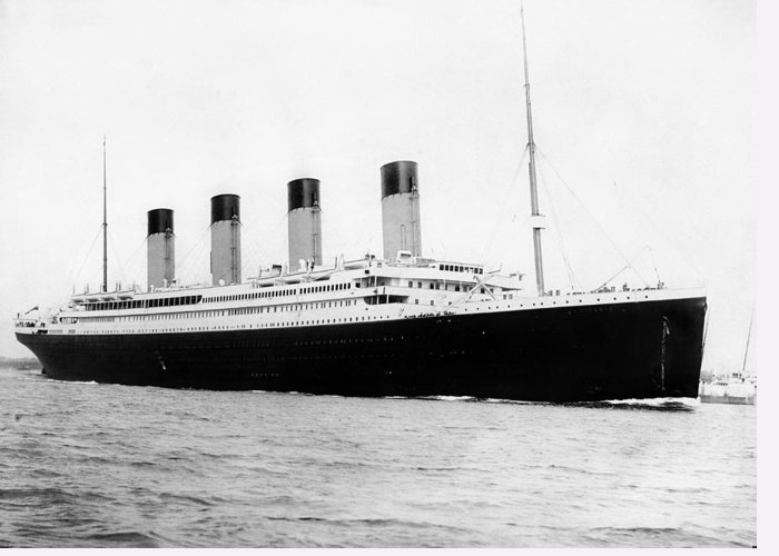 Passenger Liners Greeting Cards