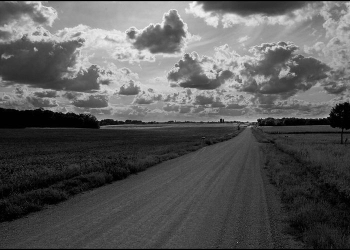 Road Greeting Card featuring the photograph Road to Nowhere by Filipe N Marques