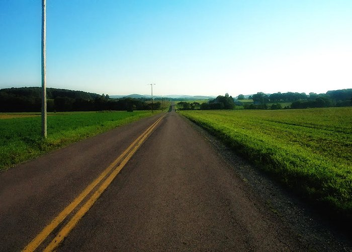 Road Greeting Card featuring the photograph Road Weary by Ross Powell
