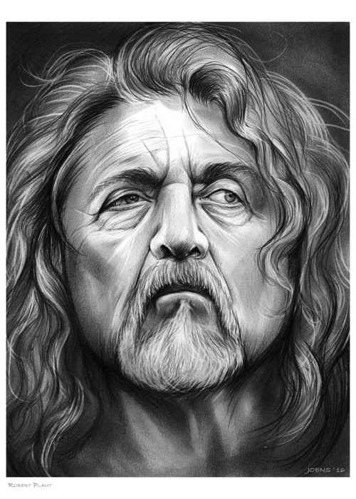 Robert Plant Greeting Cards