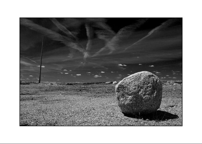 Landscape Greeting Card featuring the photograph Rock by Filipe N Marques