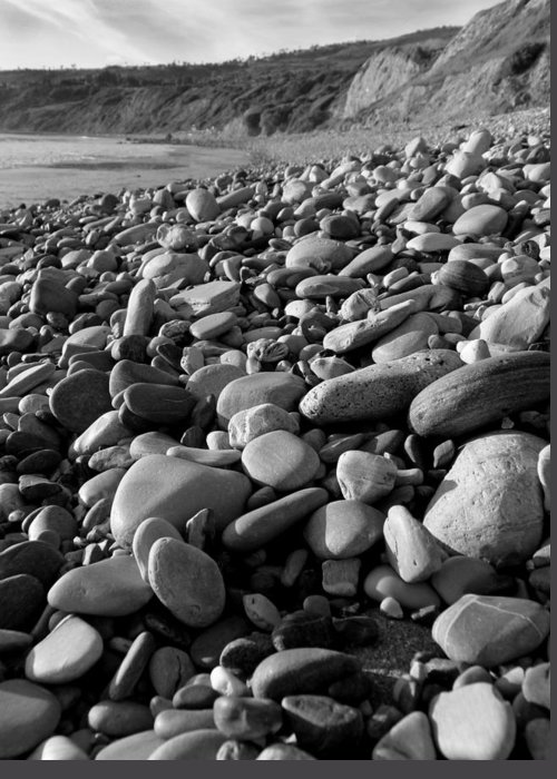 Rocks Greeting Card featuring the photograph Rocky Beach by Karey and David Photography