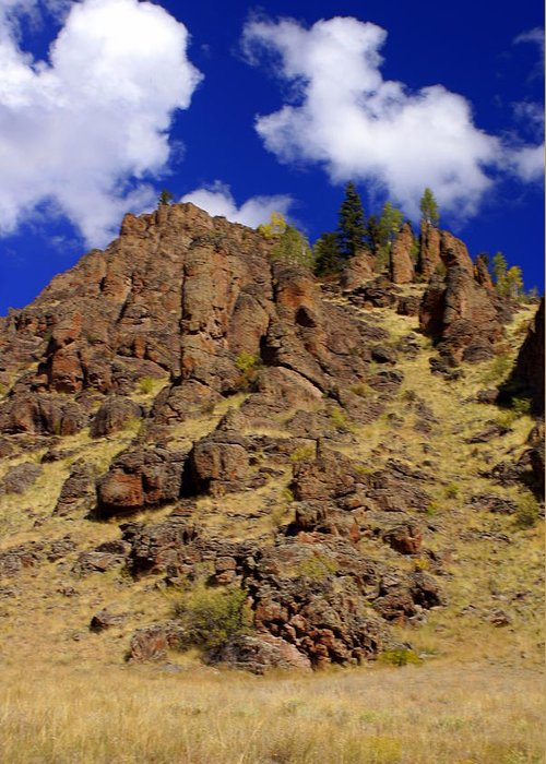 Colorado Greeting Card featuring the photograph Rocky Butte by Marty Koch