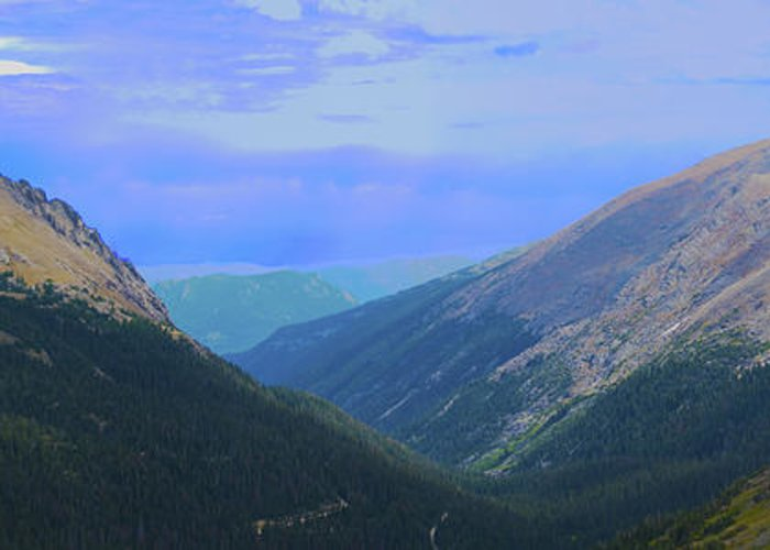 Rocky Mountains Greeting Card featuring the photograph Rocky Mountain High by Richard Henne