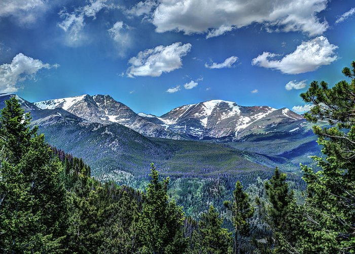 Colorado Greeting Card featuring the photograph Rocky Mountain National Park IIi by Dave Thompsen