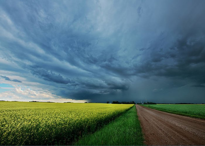 Storm Cell Greeting Cards