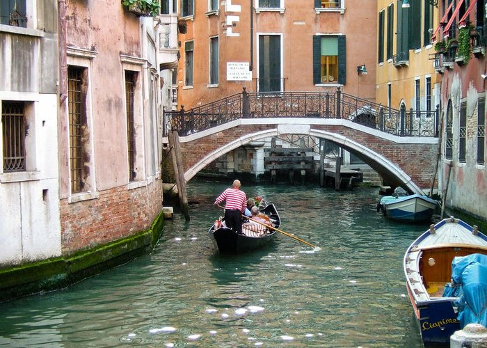 Venice Greeting Card featuring the photograph Romantic Journey by Carl Jackson