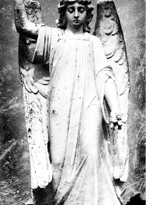 Roscommon Greeting Card featuring the photograph Roscommon Angel No 2 by Teresa Mucha
