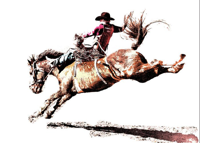 Prca Greeting Cards