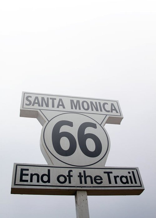 Historic Route 66 Photographs Greeting Cards