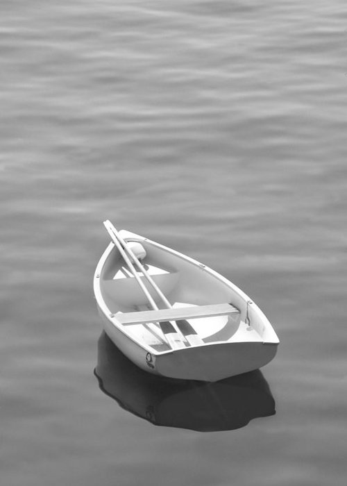 Row Boat Greeting Card featuring the photograph Row Boat by Mike McGlothlen