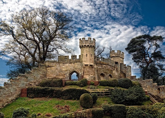 Lkg Photography Greeting Card featuring the photograph Ruins Of Warwick by Laura George
