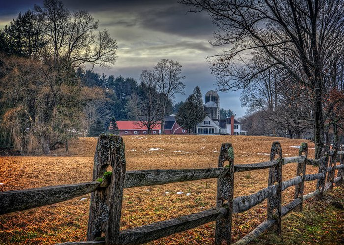 Barn Greeting Card featuring the photograph Rural America by Everet Regal