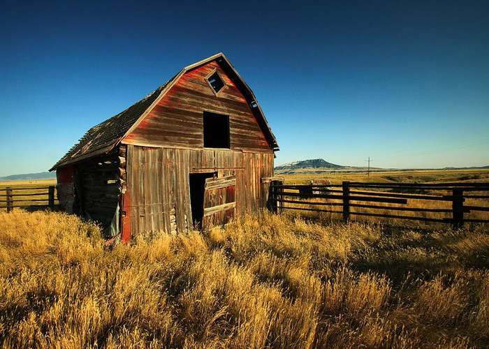 Rural Decay Greeting Cards