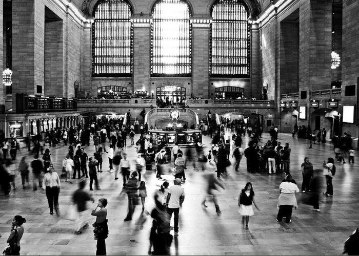 Darren Greeting Card featuring the photograph Rush Hour by Darren Scicluna