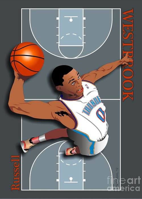 N.b.a.basketball Greeting Cards