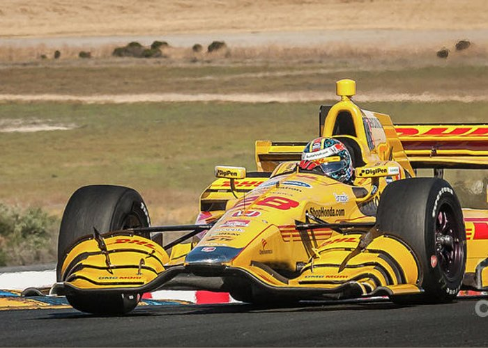 Andretti Autosport Photographs Greeting Cards