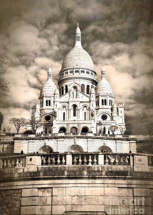 Sacre Coeur Greeting Cards