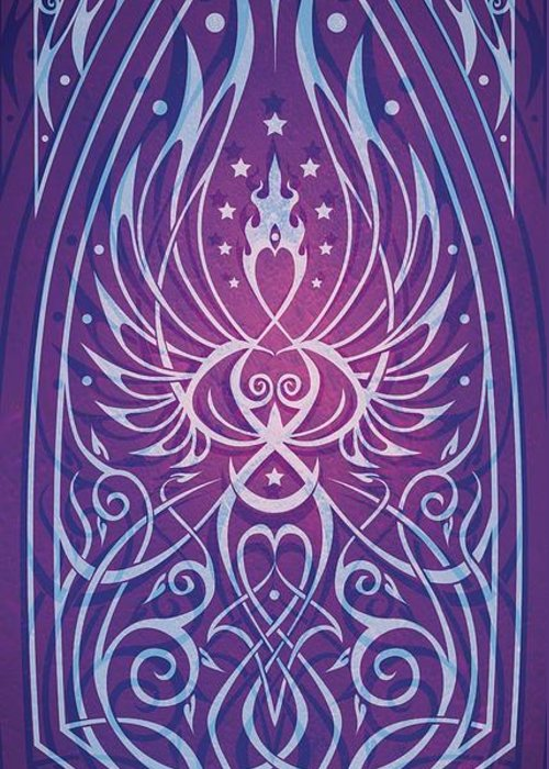 Feminine Greeting Card featuring the digital art Sacred Feminine by Cristina McAllister