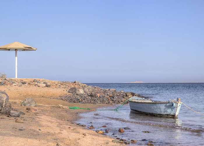 Water Sports Greeting Card featuring the photograph Safaga - Egypt by Joana Kruse