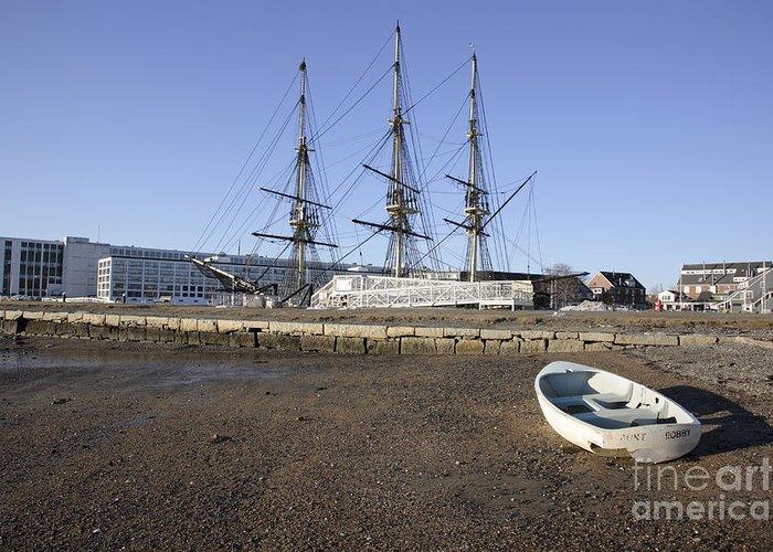 Salem Greeting Card featuring the photograph Salem Maritime National Historic Site In Salem Massachusetts Usa by Erin Paul Donovan