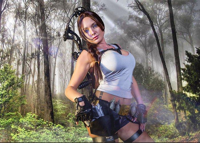 Cosplay lara croft Welcome to