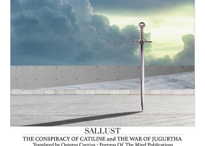 Sallust Greeting Card featuring the digital art Sallust by Quintus Curtius