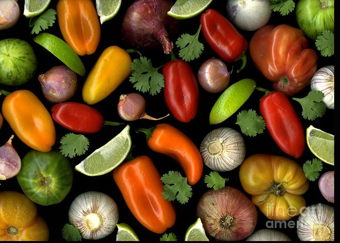 Culinary Greeting Card featuring the photograph Salsa by Christian Slanec