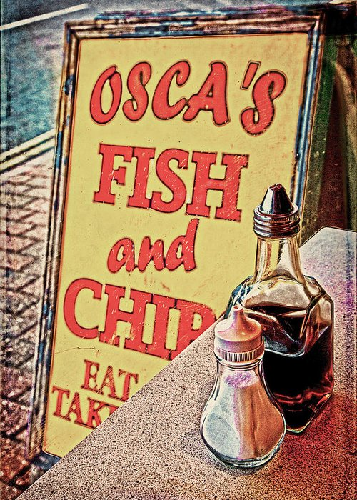Fish Greeting Card featuring the photograph Salt And Vinegar by Chris Lord