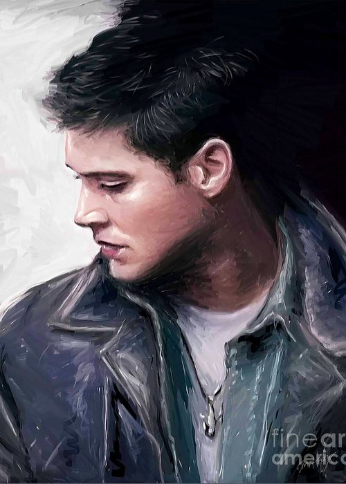 Salt Life Dean Winchester Greeting Card For Sale By Dori Hartley