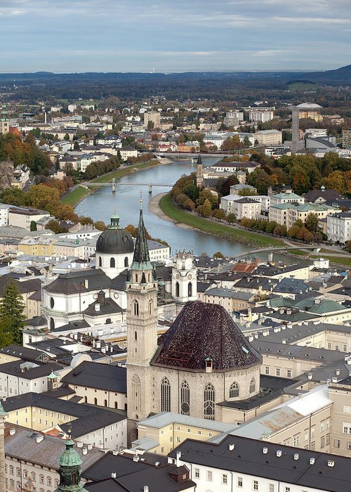 Salzburg Greeting Card featuring the photograph Salzburg by Andre Goncalves