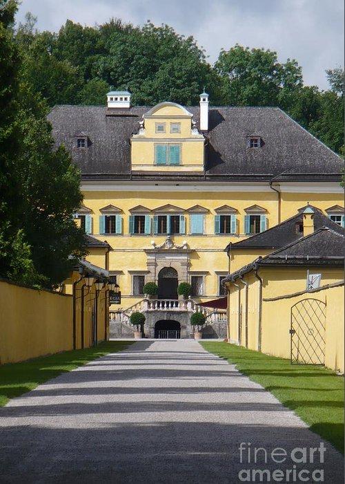 Austria Greeting Card featuring the photograph Salzburg Chateau by Carol Groenen