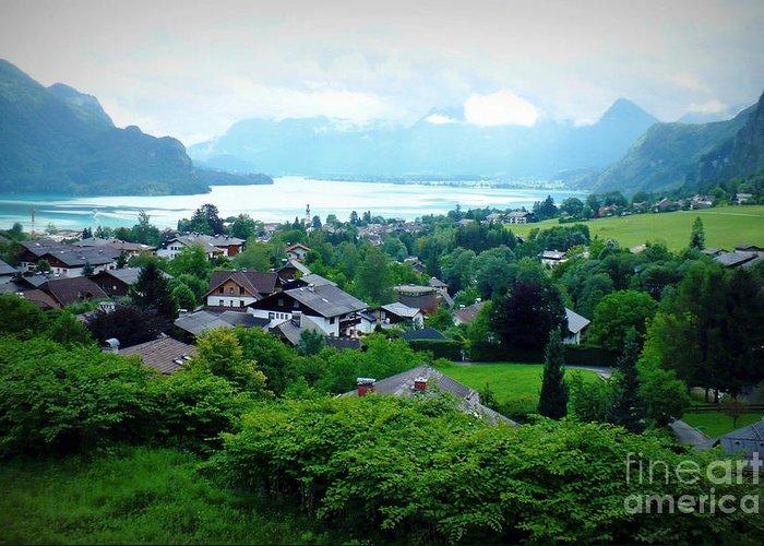 Austria Greeting Card featuring the photograph Salzburg Lake District by Carol Groenen
