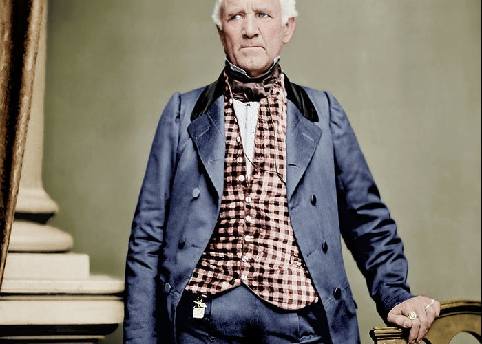 Texas Greeting Card featuring the photograph Sam Houston by Craig Kelsay